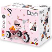 Trīsriteņu velosipēds Smoby Be Move Rozā 68 x 52 x 52cm