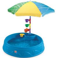 Baseins bērniem ar lietussargu un aksesuāriem Step2 Zils 101.5 x 127 x 101.5cm