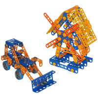 Konstruktors Wader Quality Toys Kit Excavator Multi krāsa 330 elementi