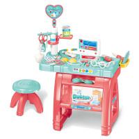 Mazā daktera kabinets Woopie Little Doctor's Office Multi krāsa 22 piederumi
