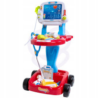 Mazā daktera ratiņi ar piederumiem Woopie Doctor Set Multi krāsa 17 piederumi