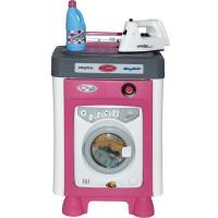 Rotaļu veļas mašīna ar piederumiem AGD Wader Quality Toys Carmen Multi krāsa 31 x 23.5 x 44.5cm