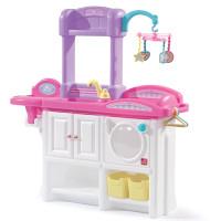 Rotaļu centrs leļļu kopšanai Step2 Deluxe Nursery Multi krāsa 94.6 x 25.4 x 80cm