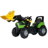 Pedāļu traktors Rolly Toys Farmtrac Premium Deutz-Fahr Agrotron Multi krāsa 146 x 77 x 53cm