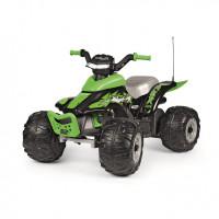 Elektriskais kvadracikls Peg Perego Corral T-REX 330W Zaļš 100 x 65 x 64cm