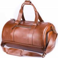 Vīriešu dabīgās ādas ikdienas soma Solier SL19 Gaiši brūna 28 x 53 x 37cm